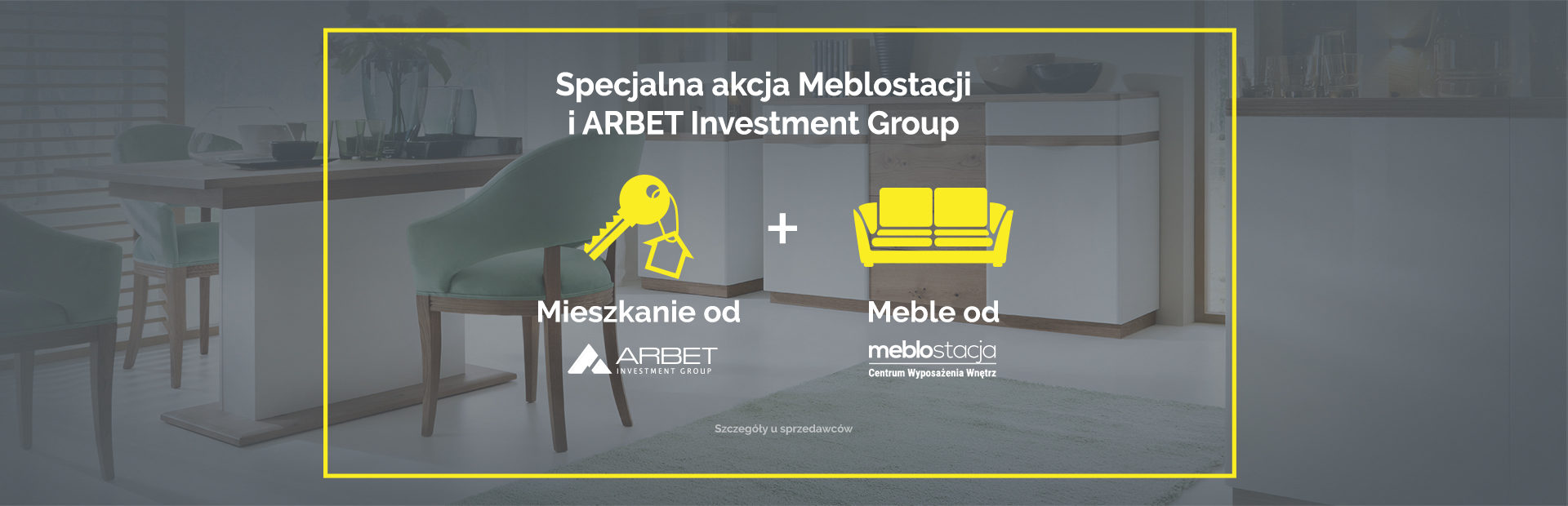 Mieszkanie od ARBET-u, meble od Meblostacji